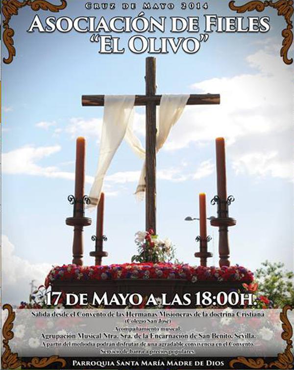 """Salida Procesional Cruz de Mayo """"El Olivo"""""""