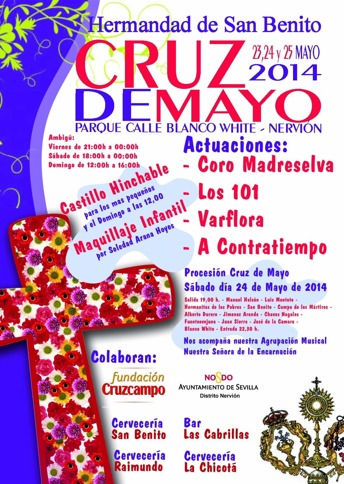 Cruz de Mayo de la Hdad. de San Benito