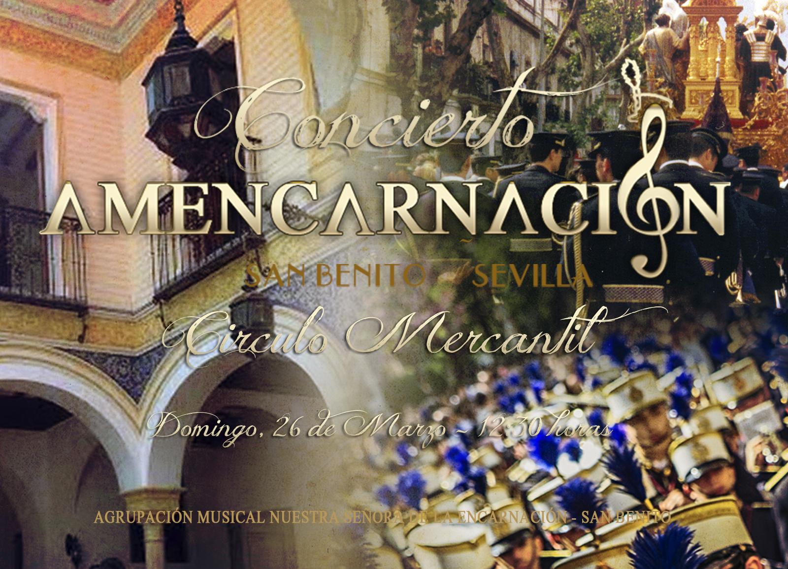 Concierto en el Círculo Mercantil, Sevilla