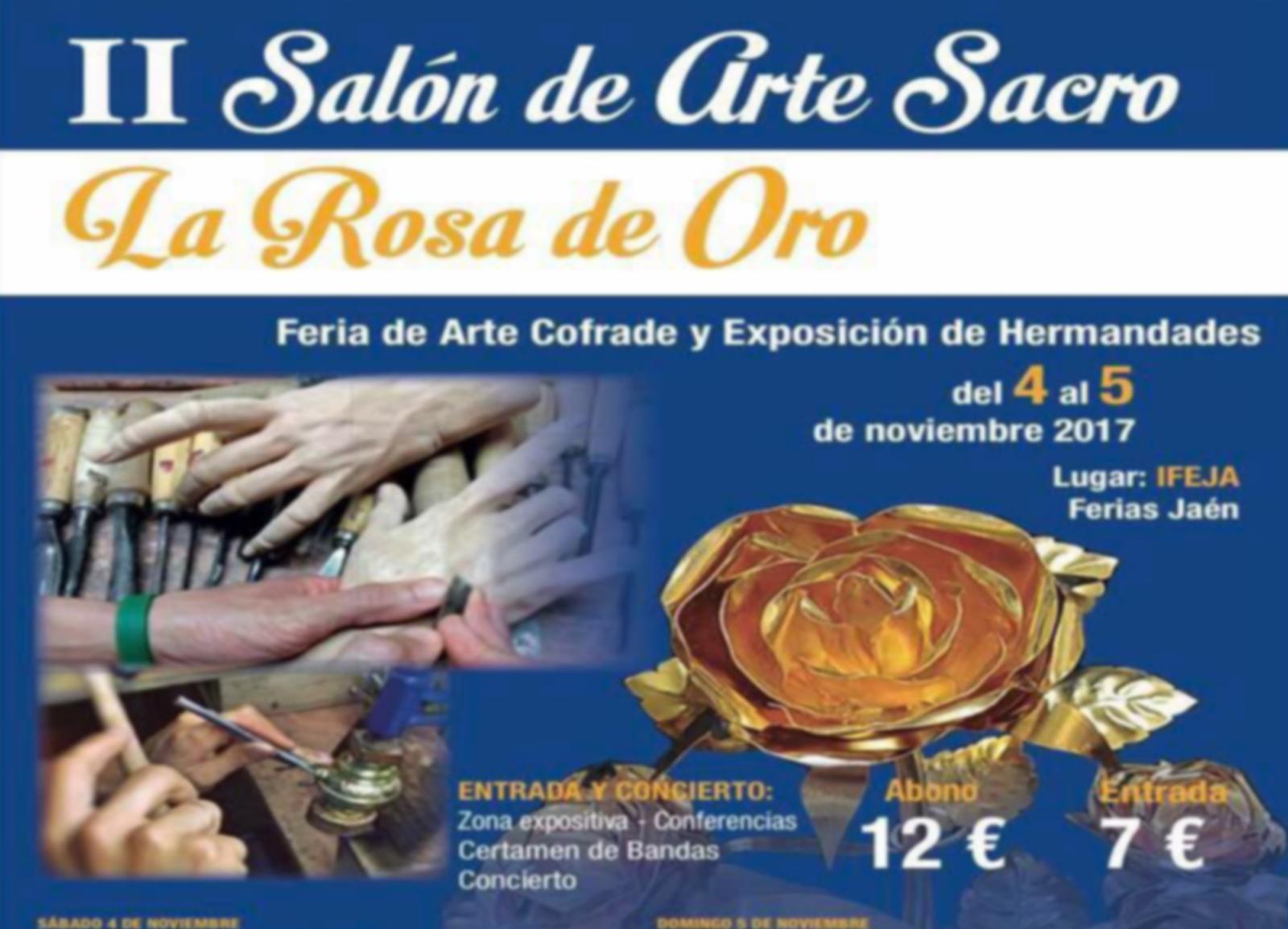 Concierto en el II Salón de Arte Sacro, La Rosa de Oro