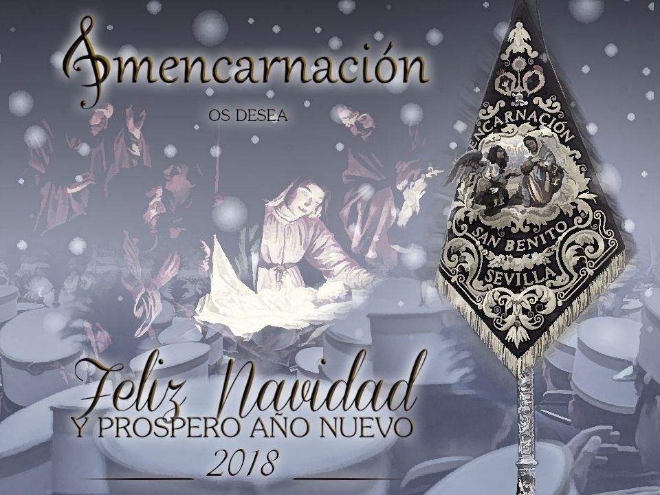 La A.M. Ntra. Sra. de la Encarnación os Desea, Felices Fiestas!